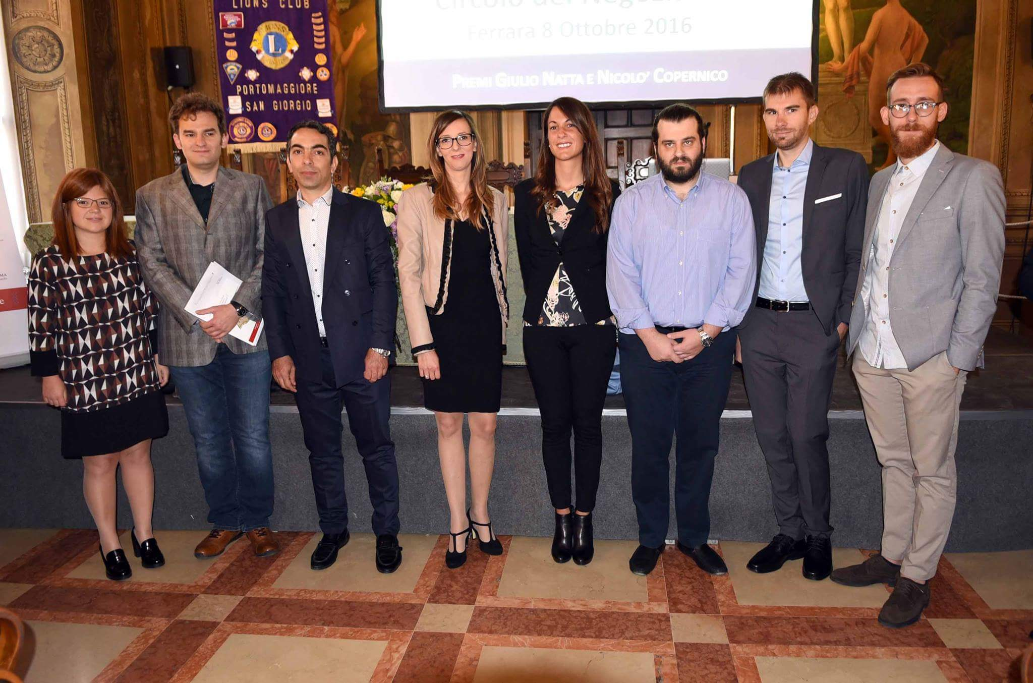 Giulio Natta and Nicolò Copernico Awards 2016