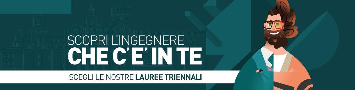 Scopri le Lauree Triennali di Ingegneria