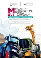 Online il bando del Master Agrindustrial Vehicle Technology (MAVT)