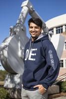 Muddasar Ali, uno degli studenti che hanno avviato il percorso per l'ottenimento della Laurea a doppio titolo in partnership con la University of West Florida.