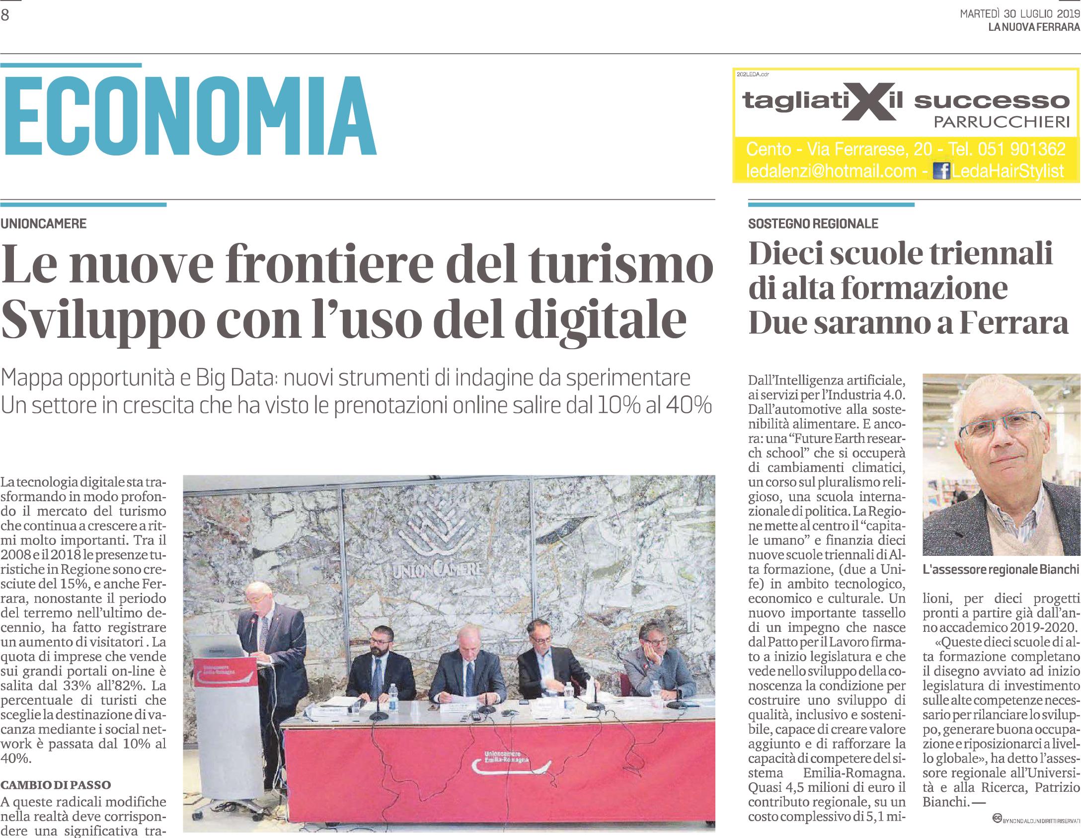 A Ferrara le due scuole  di Alta Formazione sull'Intelligenza Artificiale e sull' Industria 4.0