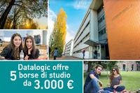 Datalogic e Ingegneria Unife: confermate per l'anno accademico 2020-2021 le 5 borse di studio per laureati triennali provenienti da atenei esterni alla Regione Emilia-Romagna che si iscrivono ai corsi magistrali LM –29 ed LM-32 di Unife