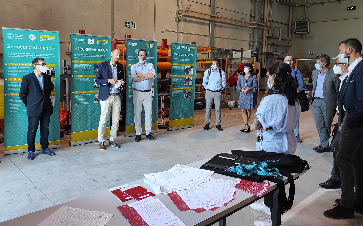 Dipartimento di Ingegneria e Gruppo Carraro: primo incontro per l'avvio della collaborazione