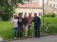 Docenti dell' Escuela Politécnica Superior de Algeciras (UCA) in visita al DE