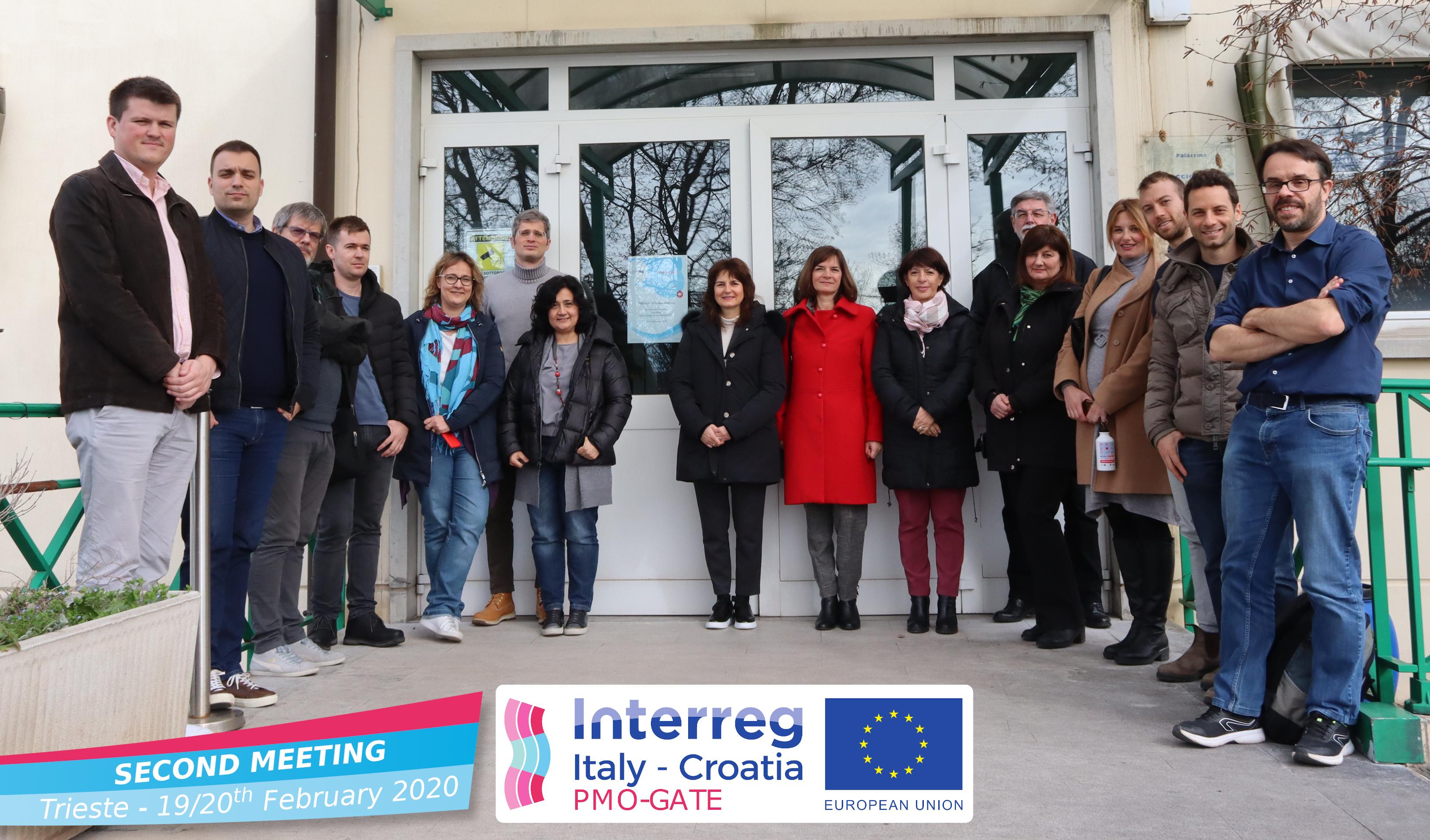 II meeting operativo tra i partner del Progetto PMO-GATE