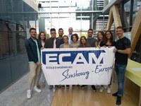 Il benvenuto agli studenti del DE a ECAM Strasbourg-Europe