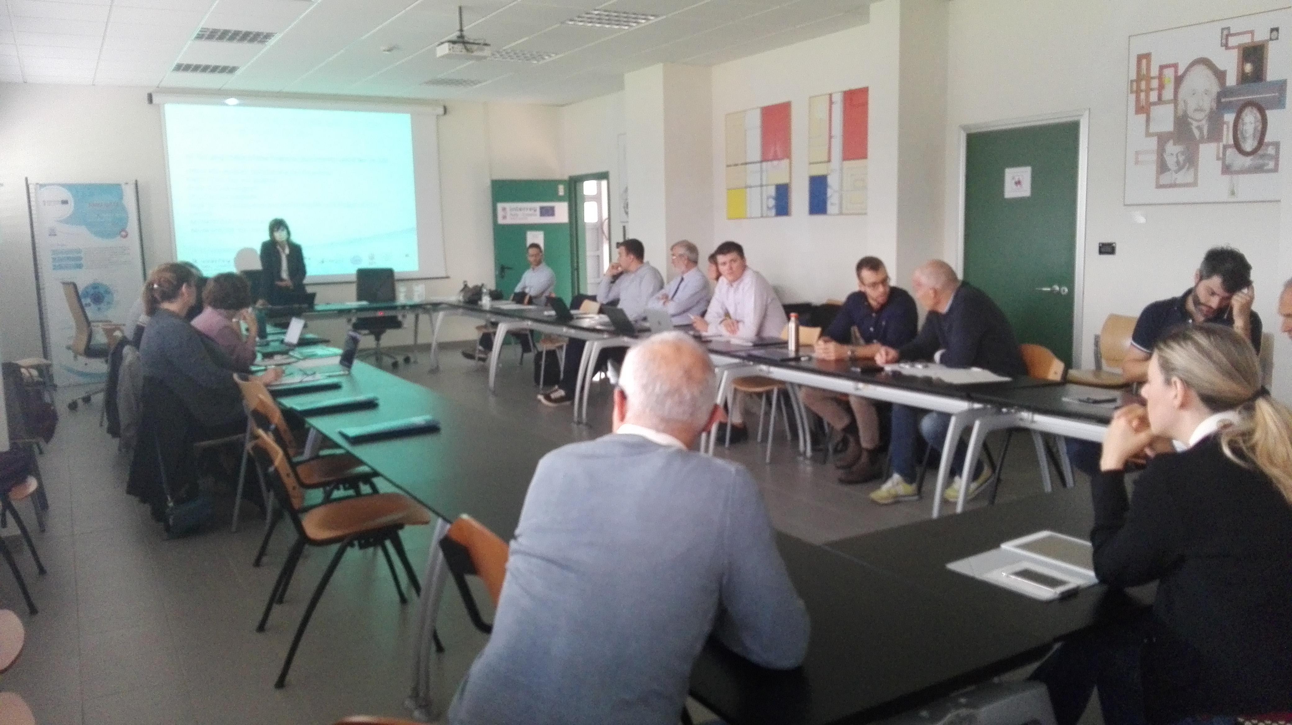 Progetto PMO-GATE: primo meeting a Ferrara