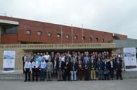 Una delegazione del Gruppo di Ricerca di Meccanica Applicata Alle Macchine al  CMMNO18