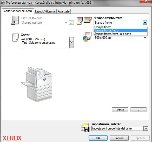 Installazione stampanti xerox sotto windows 7 - La finestra di fronte streaming ...